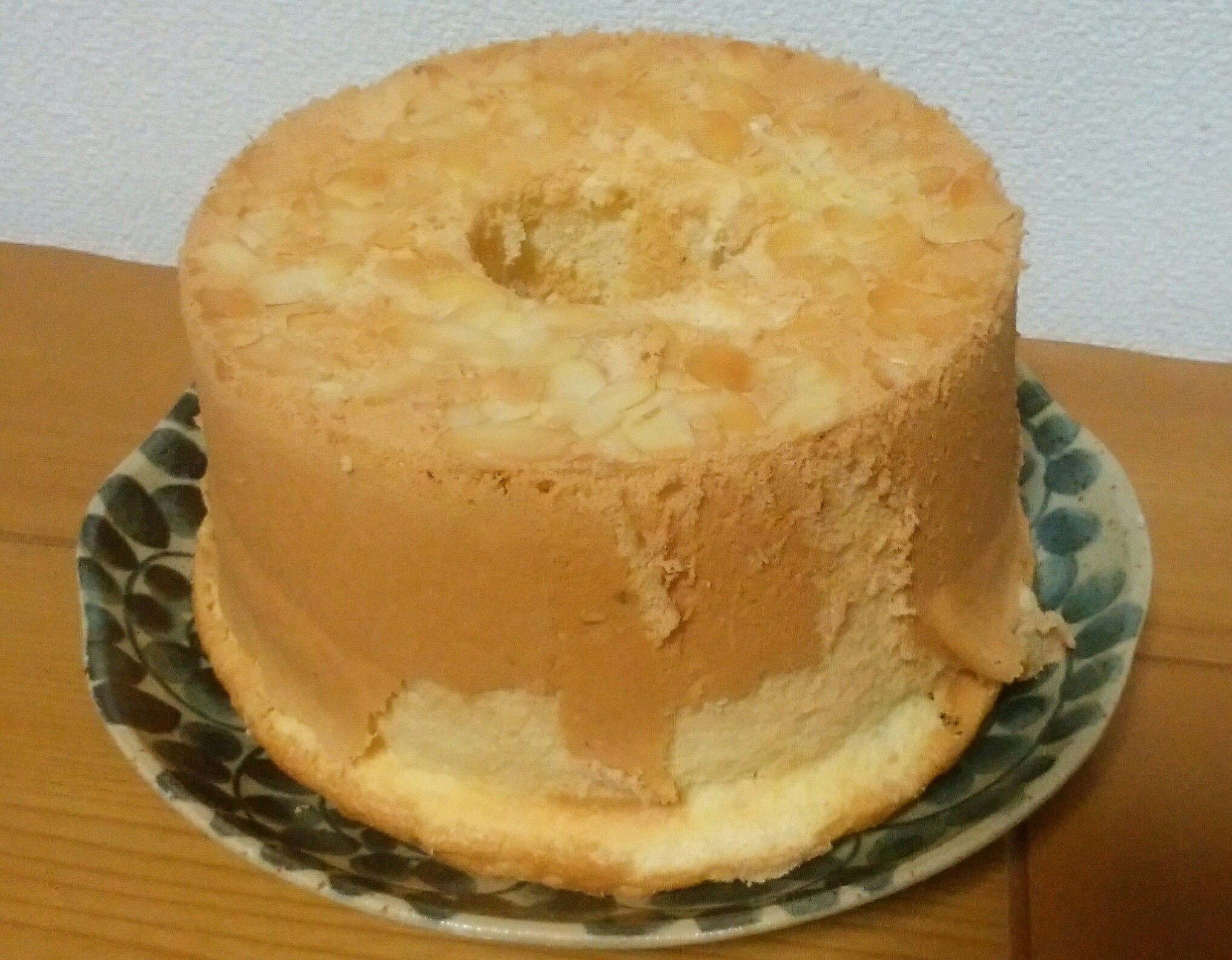 プレーンシフォンケーキ、記念すべき?10回目を作りました
