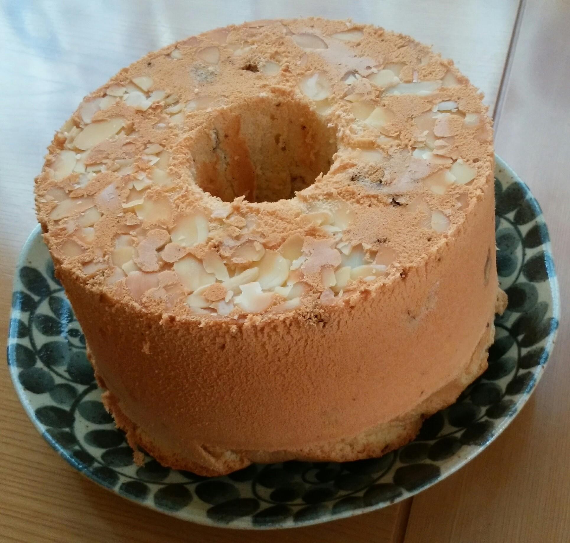 二回目のチョコチップシフォンケーキを作りました