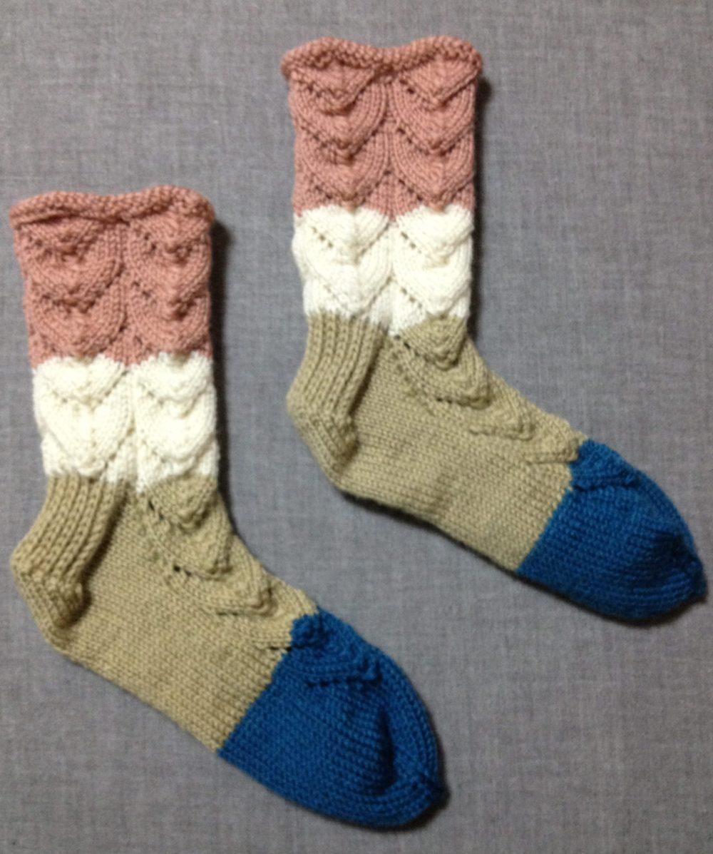 ニトロと編み物-2