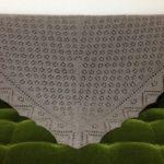 三角ショール-2【編みものワードローブ】