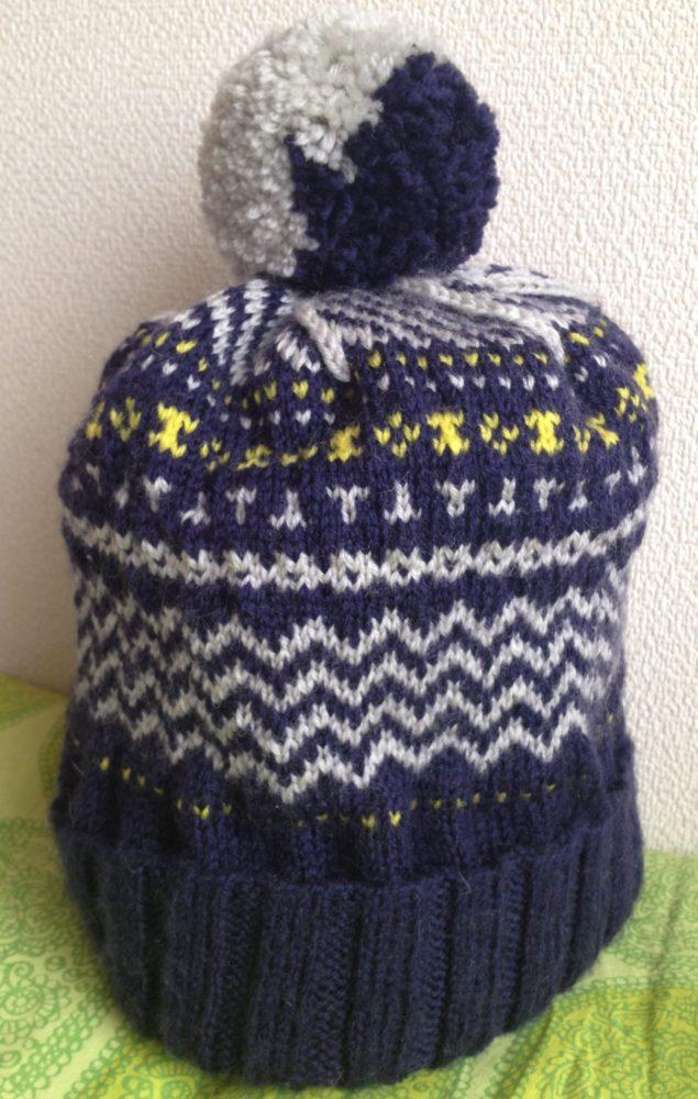 バニラアイス色の帽子、友達が選んだのは?