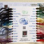 イギリスから『フランジパーニのカラーカード』が届きました