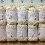 『毛糸ピエロ』で買った毛糸が届きました