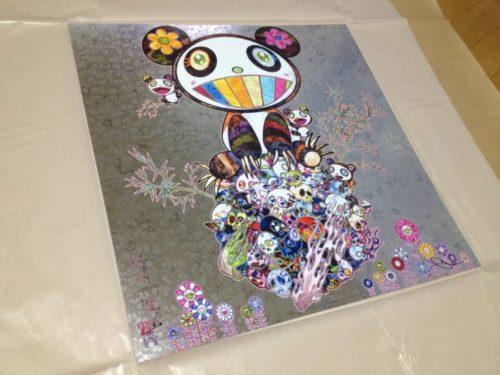 Hidari Zingaroで買った村上隆の『パンダ子パンダ』ポスターが到着