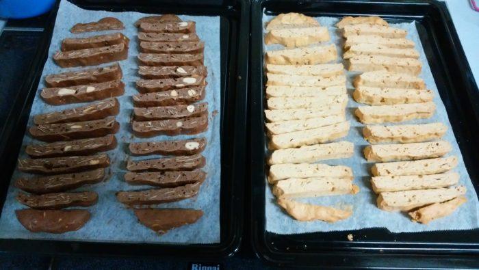 シフォンケーキを作るつもりが、ビスコッティを大量生産するハメになりました