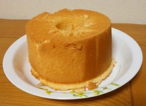 予想外の大成功?!初めてのシフォンケーキ