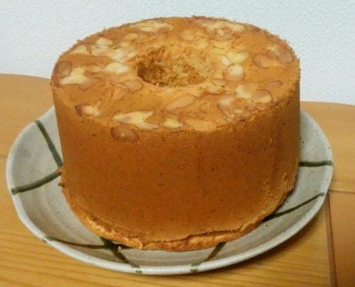 初めてのバナナシフォンケーキは、大成功でした