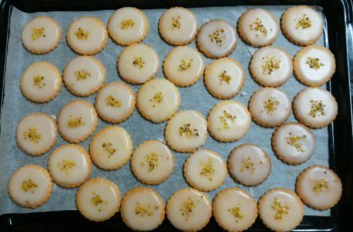 いがらしろみさんレシピのレモンアイシングクッキーを作りました