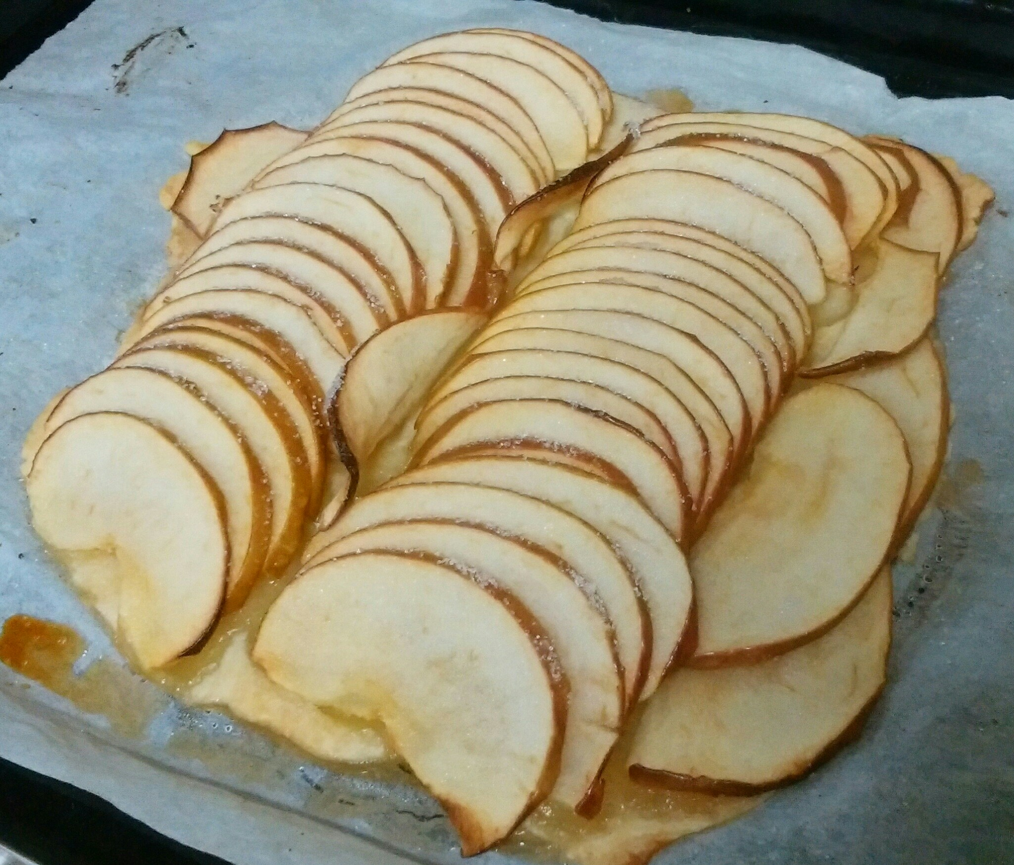 なかしましほさんレシピの『簡単アップルパイ』を作りました