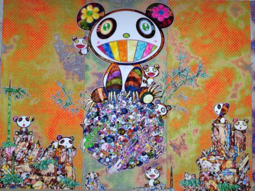 村上隆の五百羅漢図展@森美術館-1