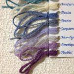 『白いガンジーセーター』を編むために、ニトロが注文した毛糸