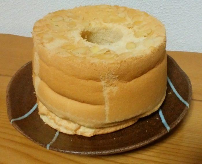 L玉玉子でプレーンシフォンケーキを作りました