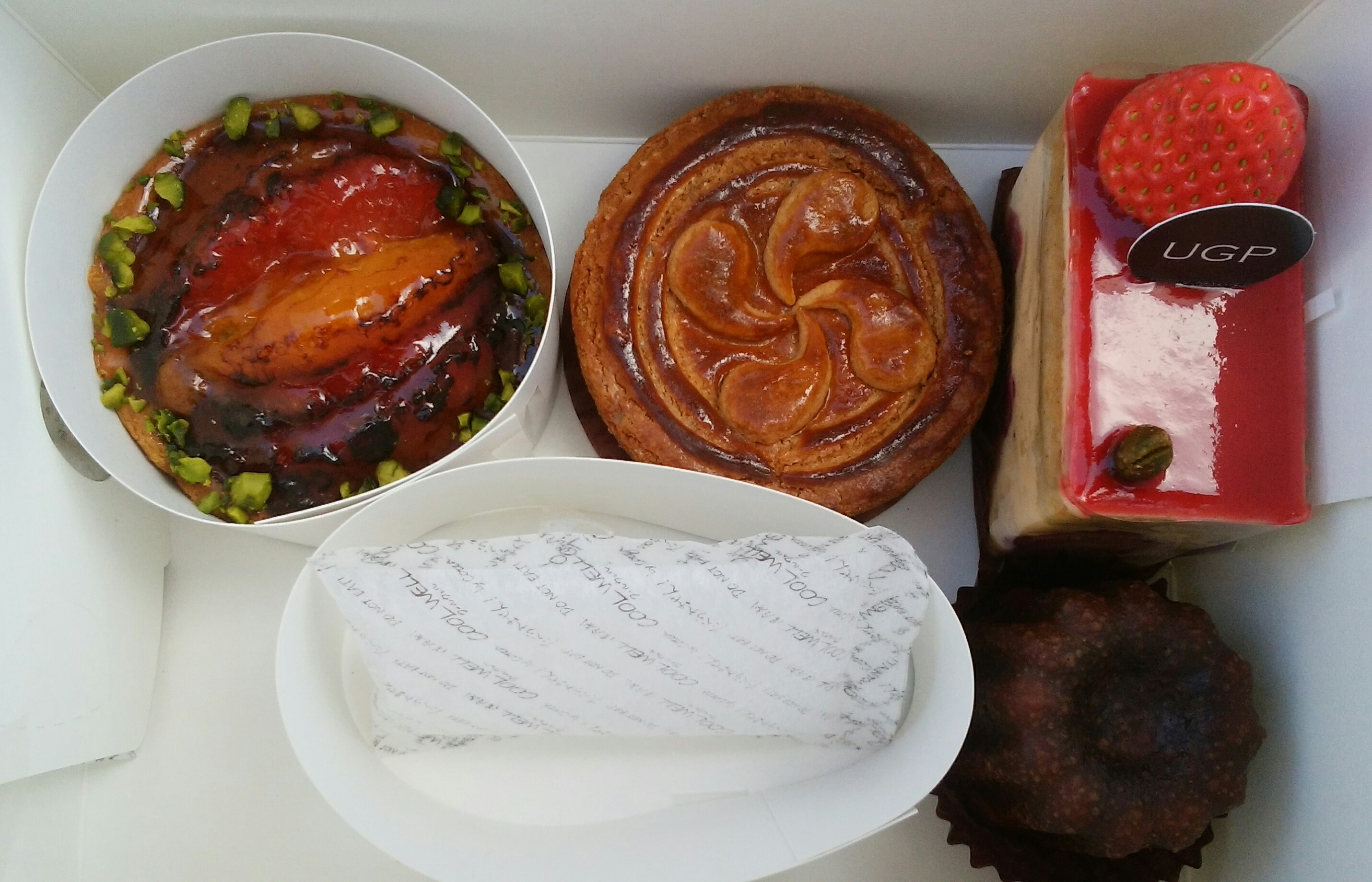 二度目の訪問!パティスリー『アングランパ』の美味しいお菓子たち