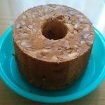 バナナチョコシフォンケーキを作りました