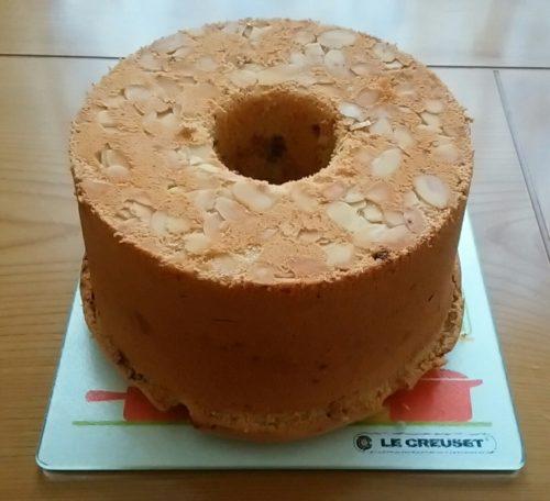 チョコチップシフォンケーキ&シフォンケーキと、クルミチョコスコーン