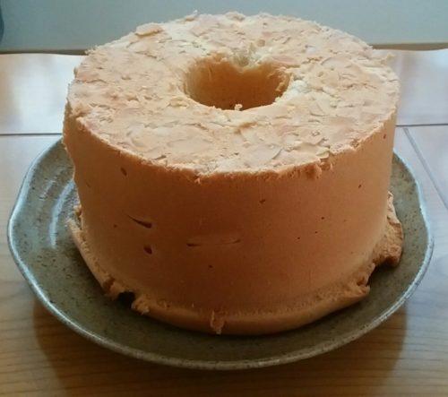 通算40回目のシフォンケーキを焼きました
