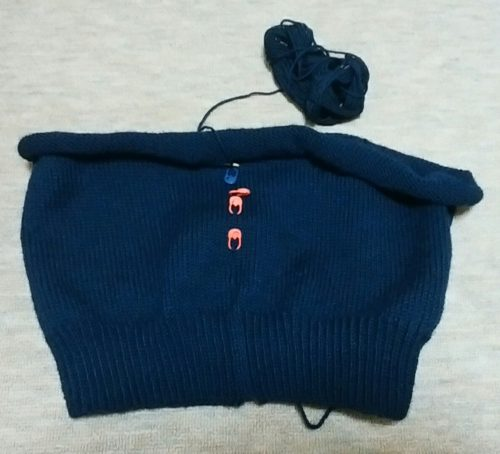 フェアアイルヨークのセーター-1【編みものワードローブ】