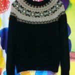 フェアアイルヨークのセーター-3【編みものワードローブ】