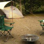 大鬼谷オートキャンプ場で初キャンプ!空き時間で靴下編み