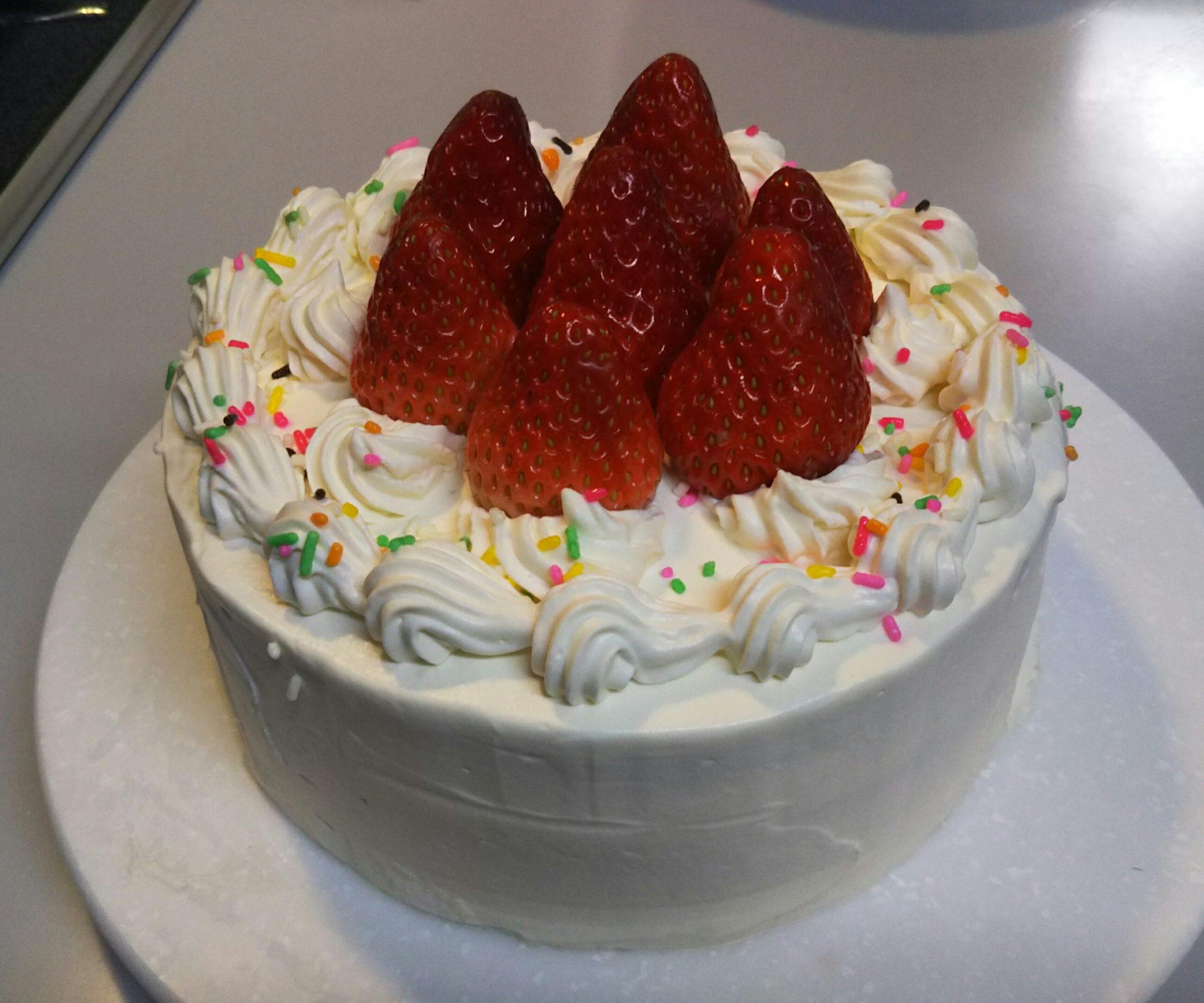 2021年初エントリは、2020クリスマスの手作りケーキから